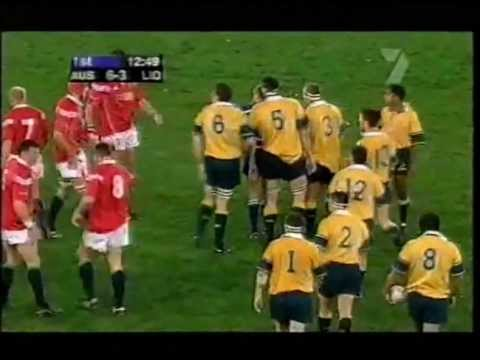 Rugby Test Match 2001 (3rd) - Australia vs. British & Irish Lions