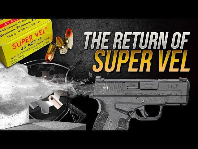 The Return Of Super Vel: .45 Auto 160gr SCHP Gel Test