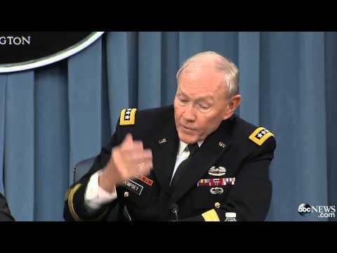 Gen. Dempsey, Defense Secretary Hagel Discuss 21-Day Ebola Quarantine