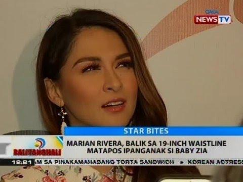 BT: Marian Rivera, balik sa 19-inch waistline matapos ipanganak si Baby Zia
