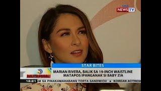 BT Marian Rivera balik sa 19 inch waistline matapos ipanganak si Baby Zia