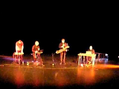 Electroacoustic Sound Quartet live at Gävle Teater (Sweden)