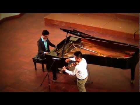 Song from A Secret Garden _ piano vs violin (DUET)