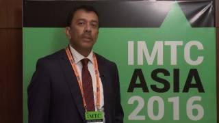 Soumya Dutta  from  Eforex - interview at IMTC ASIA 2016