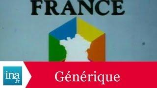 Générique d'ouverture d'antenne FR3 1979 - Archive INA
