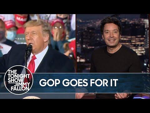 Trump's Imaginary SCOTUS Nominee Has GOP Support   The Tonight Show