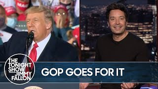 Trump's Unnamed Justice Nominee Has GOP Support | The Tonight Show
