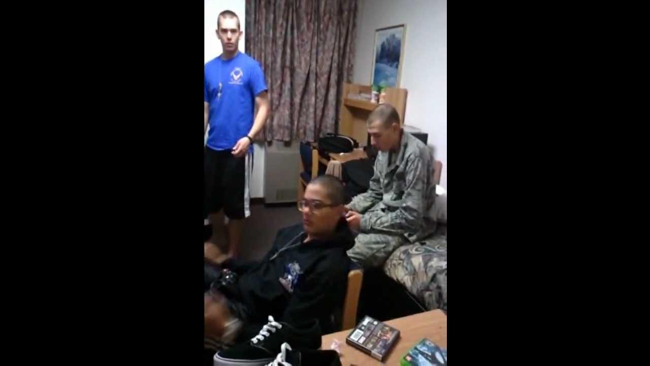 Air Force Tech school dorm cribs