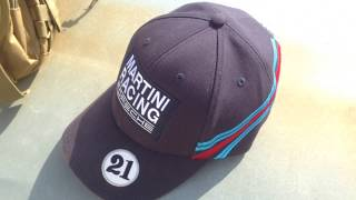 ОБЗОР кепки Porsche Martini Racing cap бейсболка