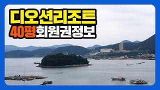 디오션리조트 회원권 40평 회원권거래소 정보