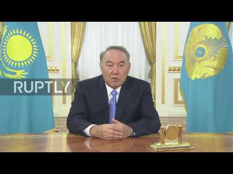 Kazakhstan: President of Kazakhstan announces start of 'third modernisation' of the country