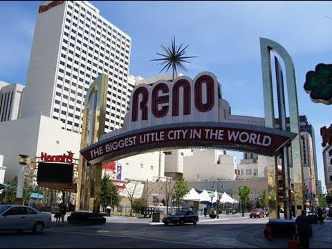 Visite De Reno, Nevada...Reno City And His Casino