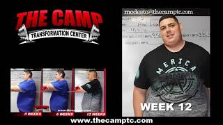Modesto Weight Loss Fitness 12 Week Challenge Results - Alex Lopez