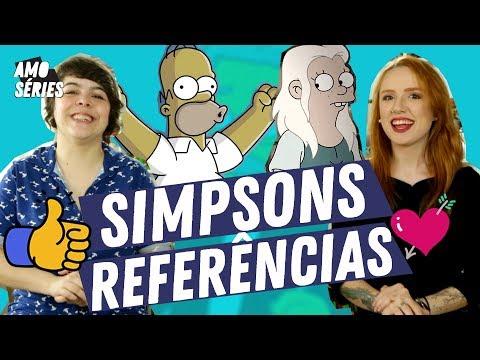 REFERÊNCIAS Do POP Em OS SIMPSONS | Mikannn E Natalia Kreuser | Terceira Temporada | Amo Séries