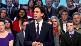 "Ed Miliband Conference 2013 Speech -- ""I will be the Prime Minister who repeals the bedroom tax"""