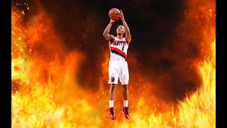 THE GREATEST POINT GUARD EVER!!! 105 Damian LIllard Gameplay NBA LIVE MOBILE (MY RETURN TO YOUTUBE)