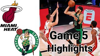 Heat vs Celtics HIGHLIGHTS Full Game | NBA Playoff Game 5