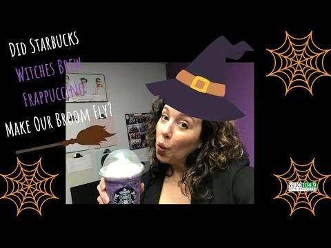 Starbucks Witches Brew Frappuccino Taste Test And Review