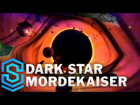 Dark Star Mordekaiser Skin Spotlight - League of Legends