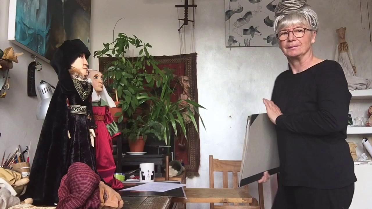 Video Michaela Bartoňová a její loutky