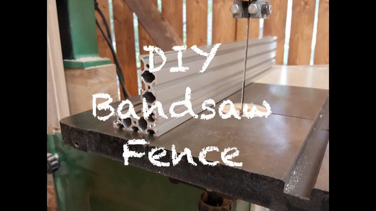DIY Bandsaw Fence - YouTube