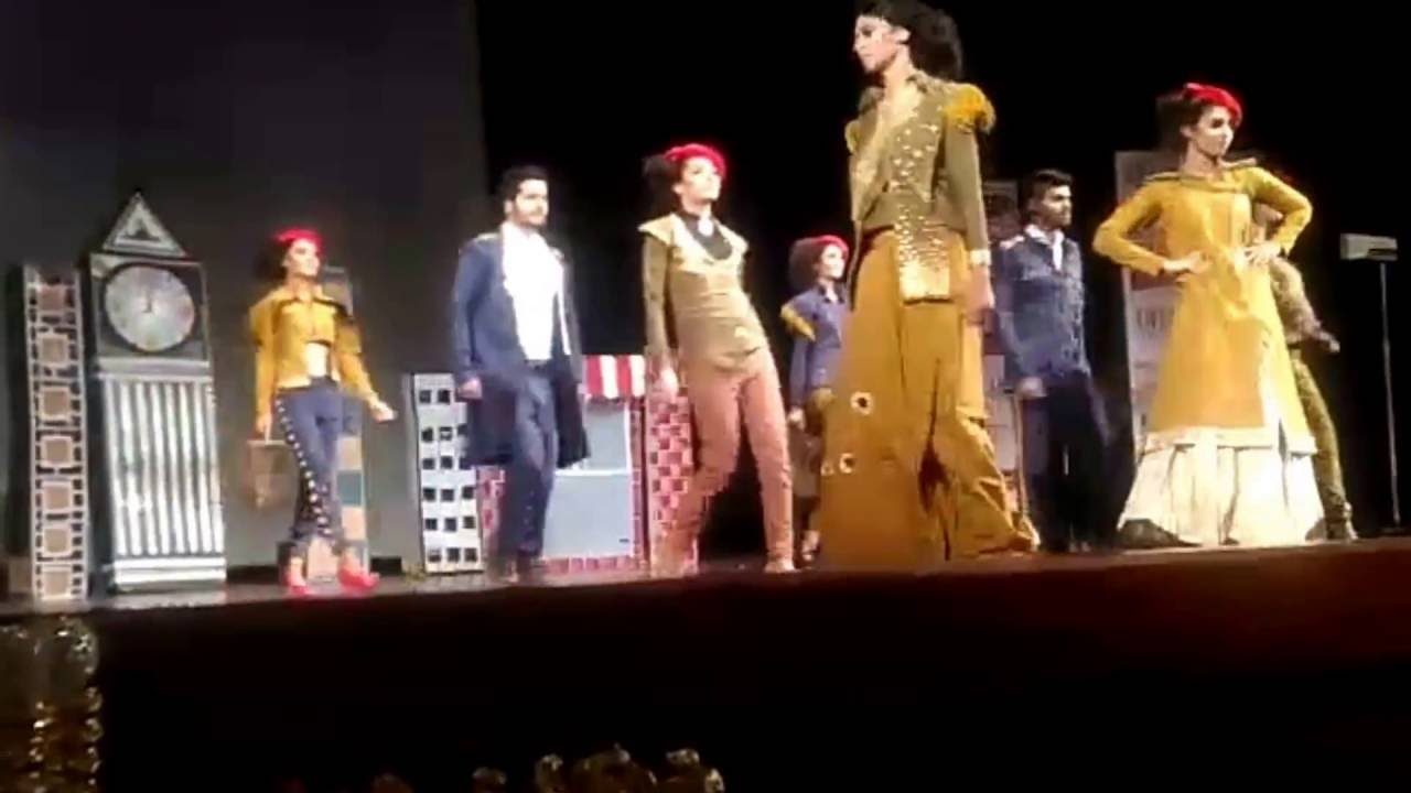 Army Institute Of Fashion And Design Aifd Metro Life Fashion Show Youtube