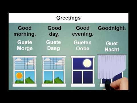 Learn Swiss German | Greetings | Speaksli.com
