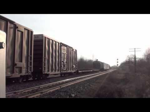 Railfanning Newtonville/Lovekin, Ontario part 1. 4/9/2011