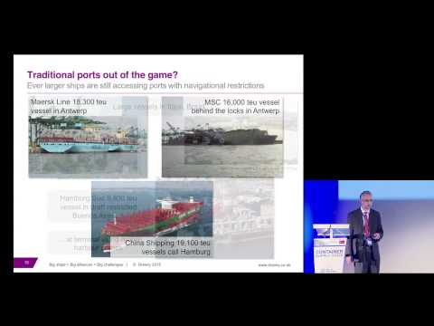 Neil Davidson at the 2015 TOC Europe Container Supply Chain Conference