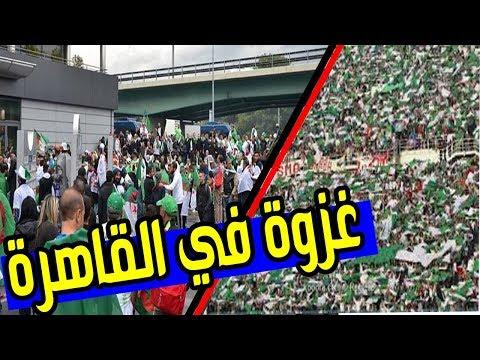 توافد الجزائريين نحو القاهرة | وسط ذهول المصريين ...
