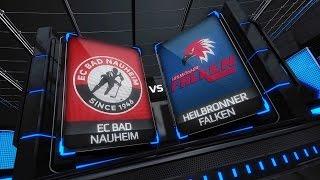 DEL2 Highlights 18. Spieltag | EC Bad Nauheim vs. Heilbronner Falken