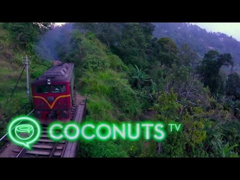 Droning Sri Lanka's Central Highlands | Getting Lifted | Coconuts TV