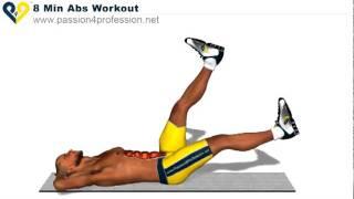 Vezbe za savrsen stomak (8min ABS WORKOUT)