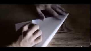 Бесконечно летающий самолетик из бумаги