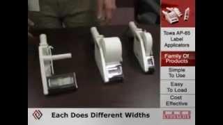 видео Диспенсер этикеток TOWA AP65-60