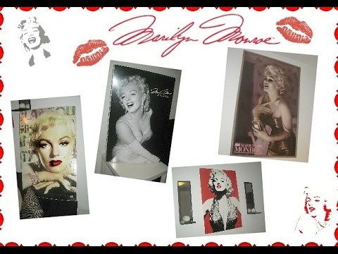 Marilyn Monroe Posters/Frames - YouTube