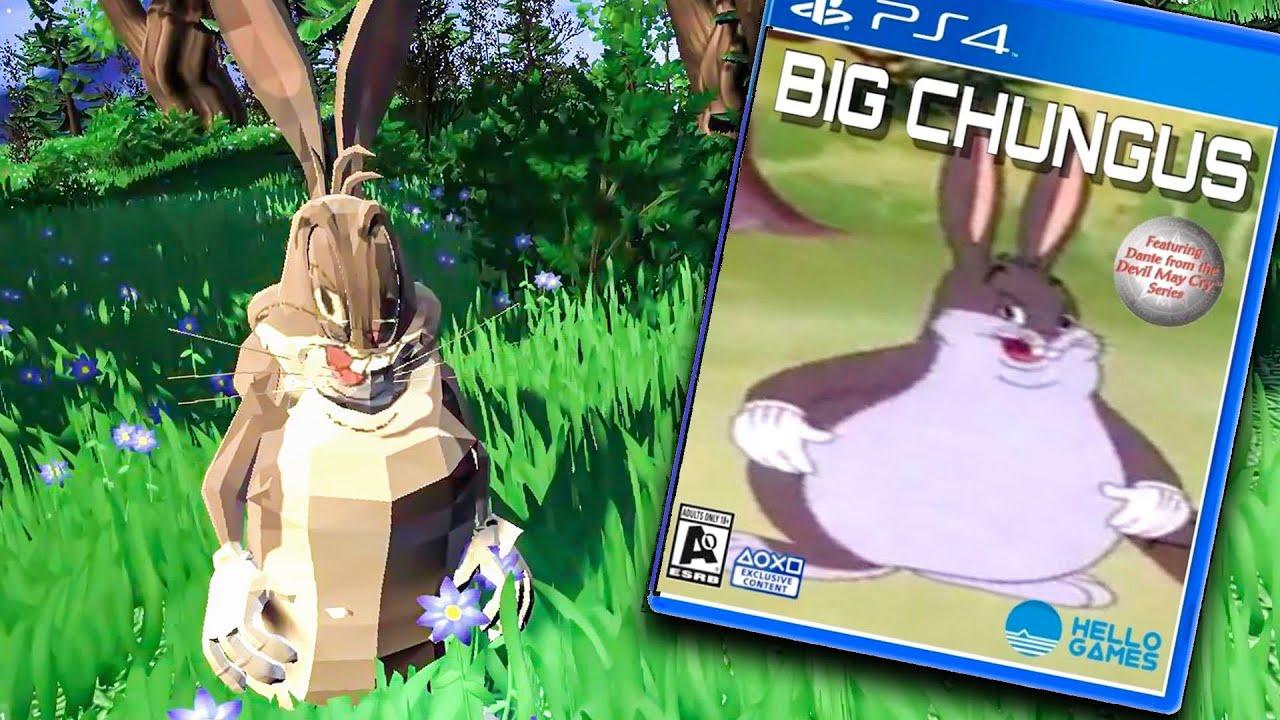 Big Chungus Game Is Real Big Chungus Gameplay Youtube