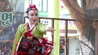 방미애 민요 전통 장구춤 용문천년시장 골목상권활성화문화…