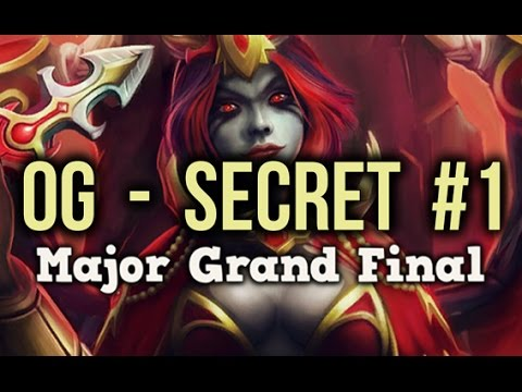 Team Secret vs OG Dota 2 Frankfurt Major Grand Final Game 1