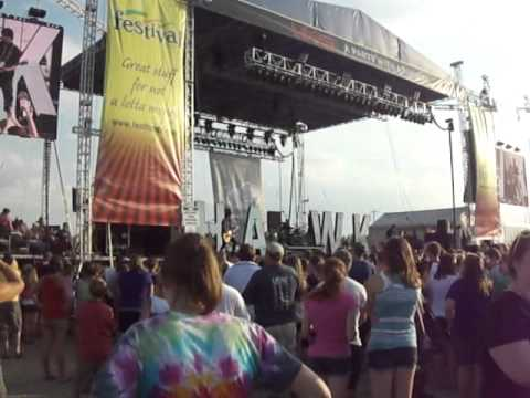 Hawk Nelson at Lifest 2011
