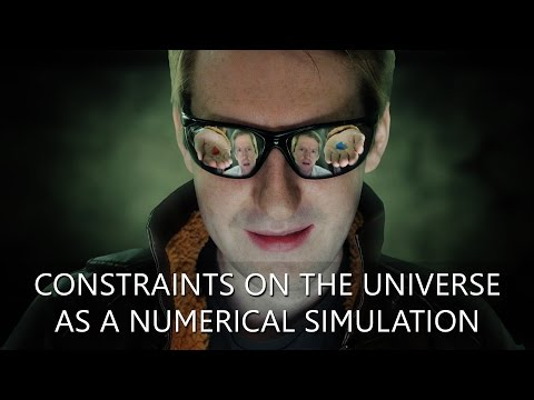 Constraints on the Universe as a Numerical Simulation - Fast Forward Science 2015