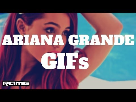 Best GIFs   Ariana Grande GIFs   Celebrity Video Compilation With Instrumental Music