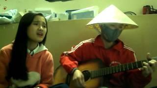 Guitar cover: Viên đá nhỏ Hai Yan + Khánh Trần