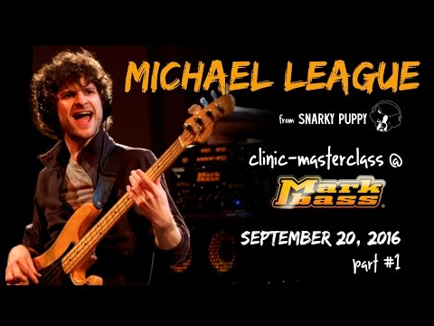 Michael League clinic at Markbass factory - part #1