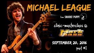 Michael League clinic at Markbass factory - part #1