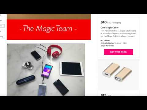 Review: The Magic Cable ( IndieGoGo Campaign)