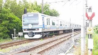 E231系139編成 成田線開業120周年記念ラッピング May 2021