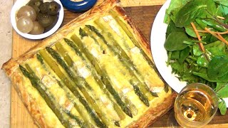 Asparagus & Leek Tart Cheekyricho Video Recipe Episode 1,019