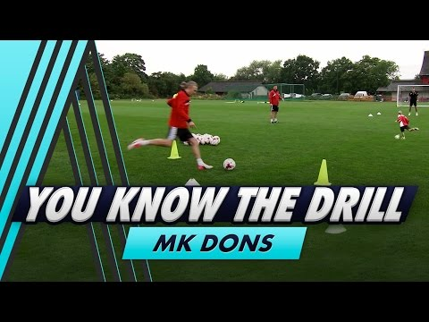 Dinking the Keeper   You Know The Drill - MK Dons with Antony Kay