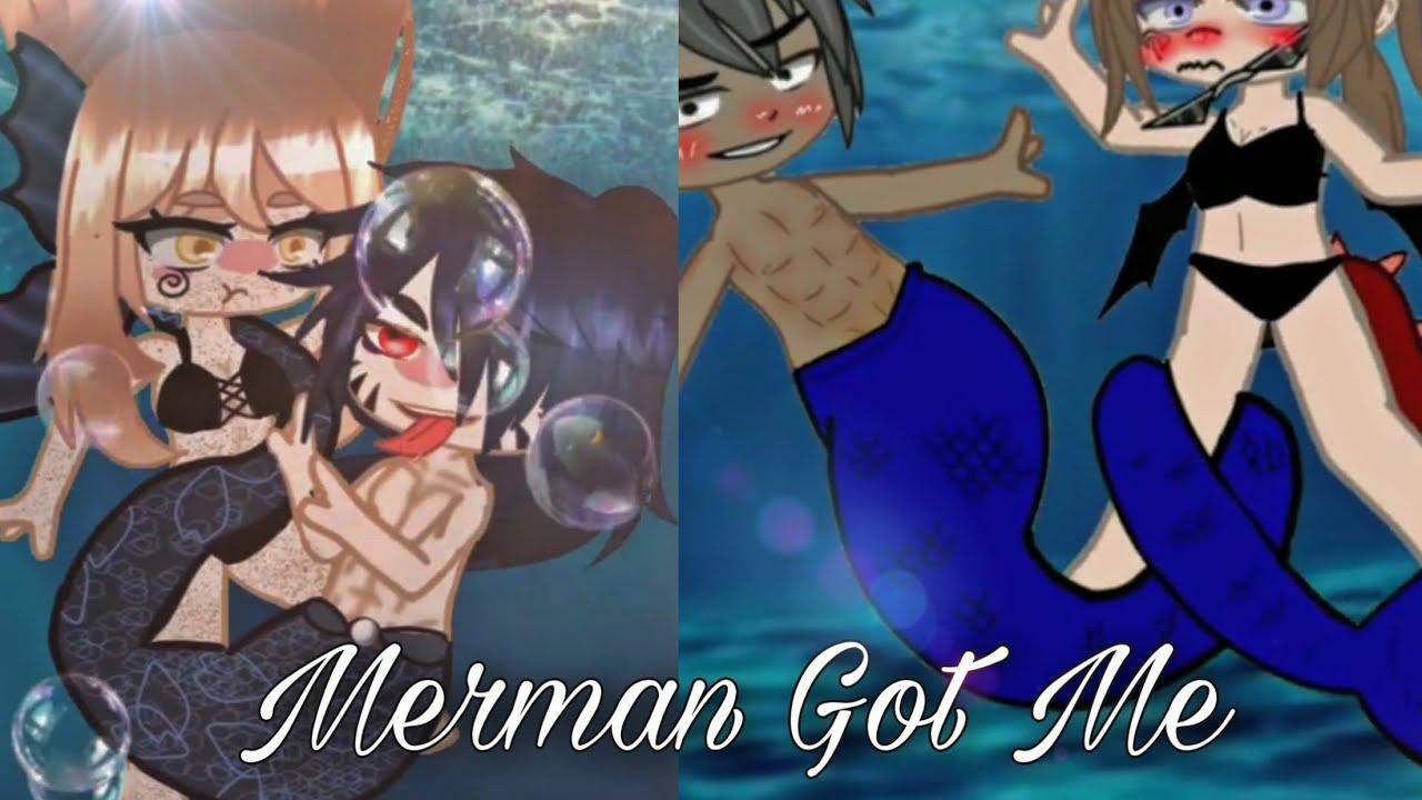 Download Top 11 🧜♀️ Merman - Mermaid Got Me Meme 🧜♀️   Gacha Life - Club Video Trend